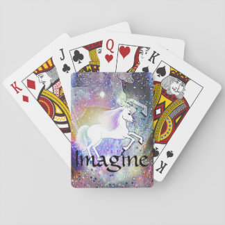 The Happy Unicorn Playing Cards