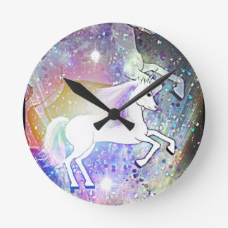 The Happy Unicorn Wall Clock