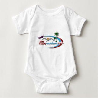 The Happy Wanderer Club Baby Bodysuit