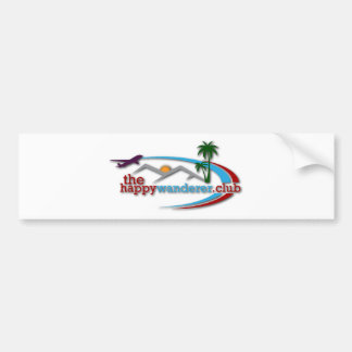 The Happy Wanderer Club Bumper Sticker