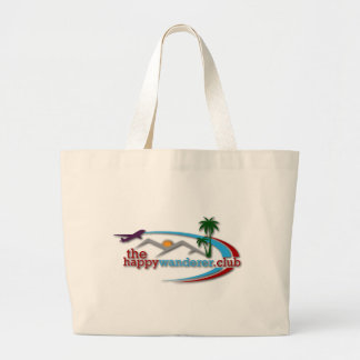 The Happy Wanderer Club Large Tote Bag