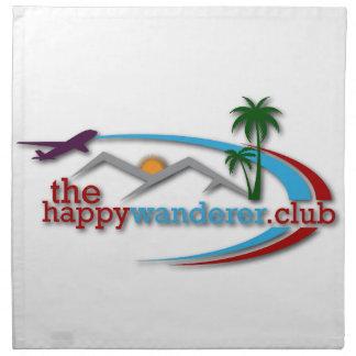 The Happy Wanderer Club Napkin