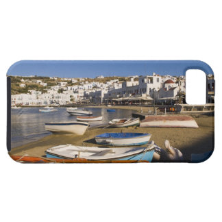 The harbor town with colorful fishing boats iPhone 5 covers