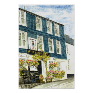 'The Harbour Inn (Padstow)' Print