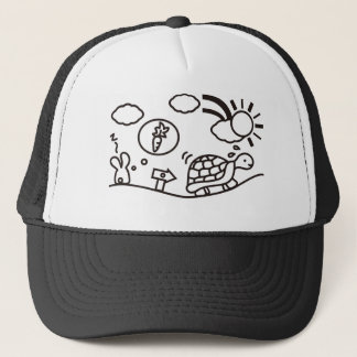 The Hare and the Tortoise Trucker Hat