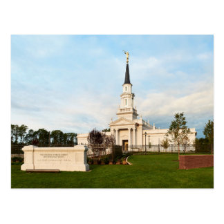 The Hartford Connecticut LDS Temple Postcard