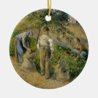 The Harvest, Pontoise Ceramic Ornament