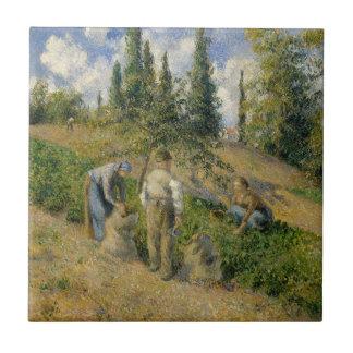 The Harvest, Pontoise Tile