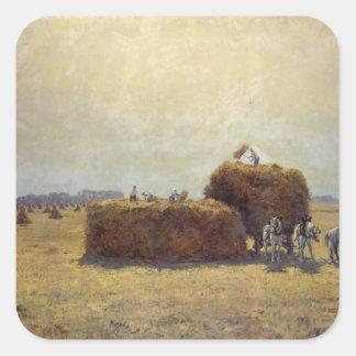 The Harvest Square Sticker