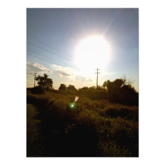 The Harvest Sun Photo Print