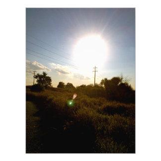The Harvest Sun Photo Print