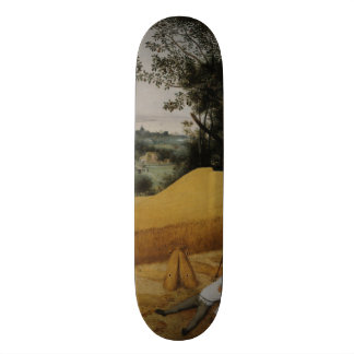 The Harvesters by Pieter Bruegel the Elder 19.7 Cm Skateboard Deck