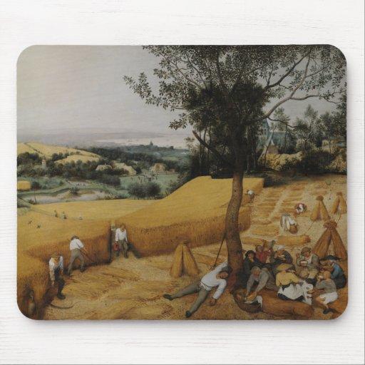 The Harvesters by Pieter Bruegel the Elder Mousepads