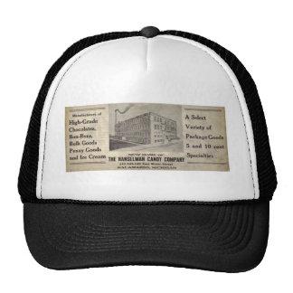 The Hasselman Candy Company of Kalamazoo Michigan Mesh Hats