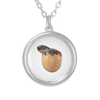 The Hatchling Silver Plated Necklace