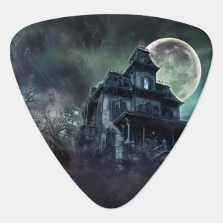 The Haunted House Paranormal Guitar Pick