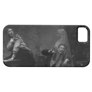 The Haunted Lane Stereograph Spirit Photography iPhone 5 Cases