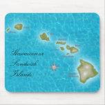 The Hawaiian Islands Mouse Pads