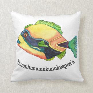The Hawaiin Humuhumu Cushion