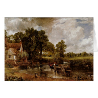 The Hay Wain By Constable John (Best Quality) Card