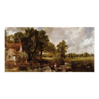 The Hay Wain By Constable John (Best Quality) Customized Photo Card