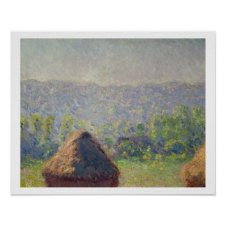 The Haystacks or, The End of the Summer, at Givern Poster