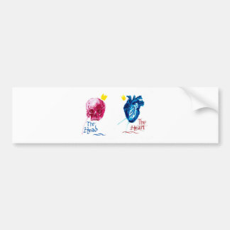 The Head and The Heart Bumper Sticker