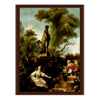 "The Head"" By Fragonard Jean-Honoré (Best Quality) Postcard"