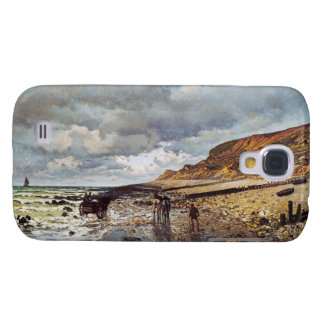 The Headland of the Heve at Low Tide Claude Monet Galaxy S4 Cover