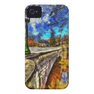The Headless Horseman Bridge Art iPhone 4 Cover