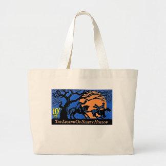 The Headless Horseman Large Tote Bag