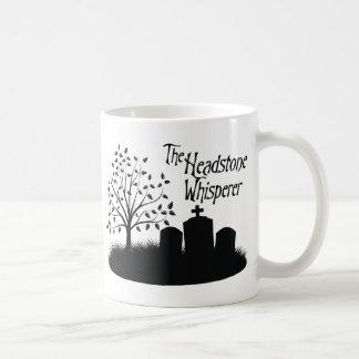 The Headstone Whisperer Coffee Mug