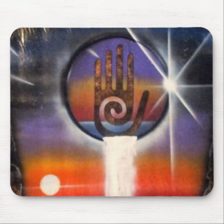 The Healing Hand of the Universe Mouse Pad