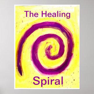 The Healing Spiral Poster