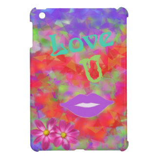The heart also speaks of love iPad mini covers