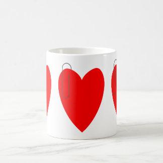 The Heart Clip Mug