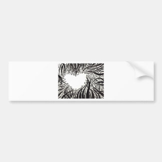 The Heart In The Tentacles Bumper Sticker