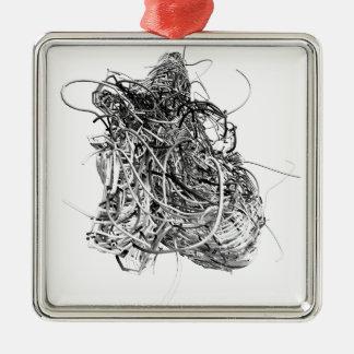 The Heart Metal Ornament