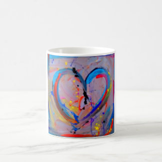 the Heart of abstract Coffee Mug