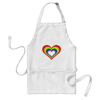 The Heart of Colors Standard Apron