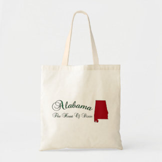 The Heart Of Dixie Alabama Hand Bag