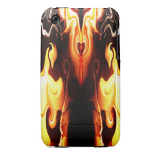 The Heart of Fire iPhone 3 Case-Mate Cases