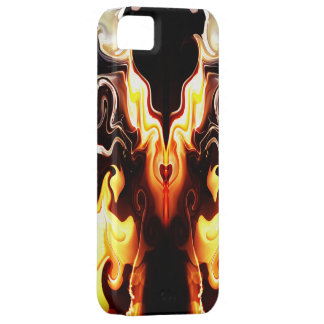 The Heart of Fire iPhone 5 Cases