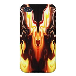 The Heart of Fire Cover For iPhone 4