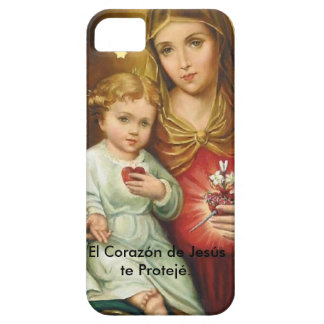 The Heart of Jesus you Proteje. iPhone 5 Case