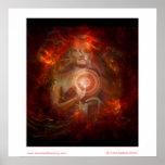 The Heart of Mandalas Poster