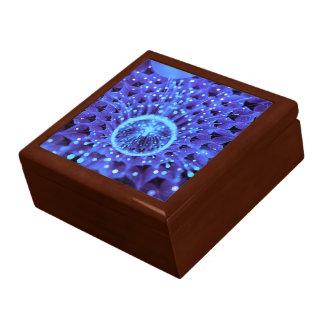 The Heart of Winter, a Purple-Blue Fractal Dahlia Gift Box
