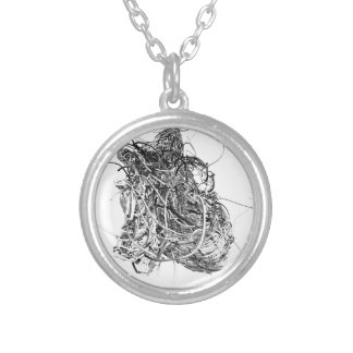 The Heart Silver Plated Necklace