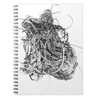 The Heart Spiral Notebook