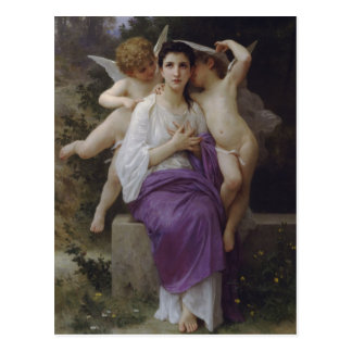 The Heart's Awakening by William Bougereau Postcard
